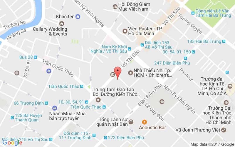 Bản đồ - Nhà Hàng Việt Phố - Lê Quý Đôn