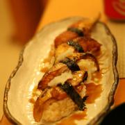 lườn cá hồi sốt kabayaki & lươn Nhật nướng