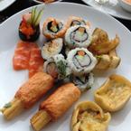Sushi, sashimi, chạo tôm ♥