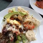 Các loại salad tự trộn
