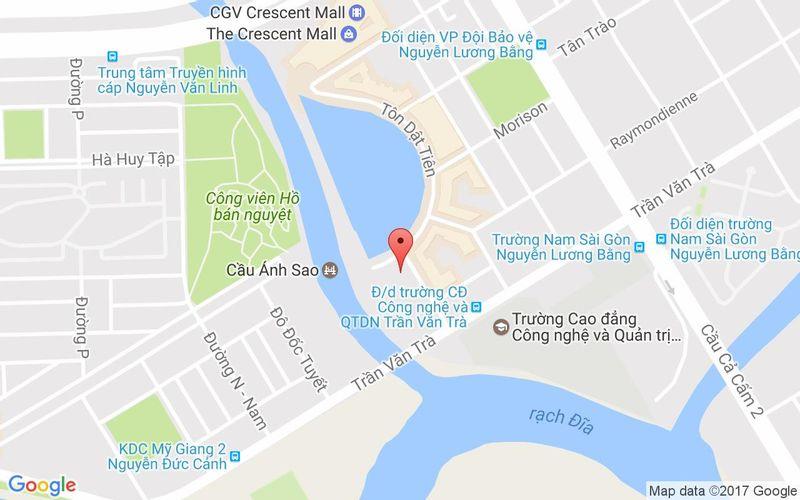 Bản đồ - Cham Charm - Buffet Sang Trọng