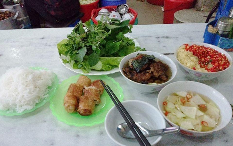 Bún Chả Hàng Mành Đắc Kim ở Hà Nội