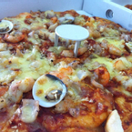 Pizza seafood deluxe