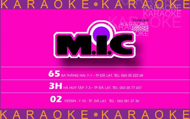 MIC Karaoke ở Lâm Đồng