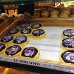 Blueberry Cheesecake nhìn khá hấp dẫn