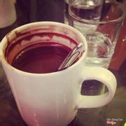 cafe sữa nóng