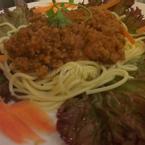 Mỳ Ý bò bằm