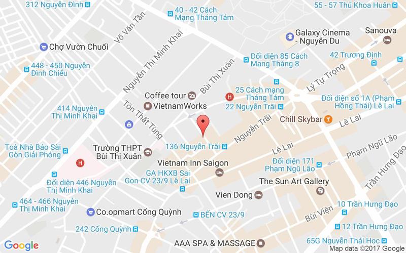Bản đồ - Bonjour Resto - Beefsteak Nguyễn Trãi
