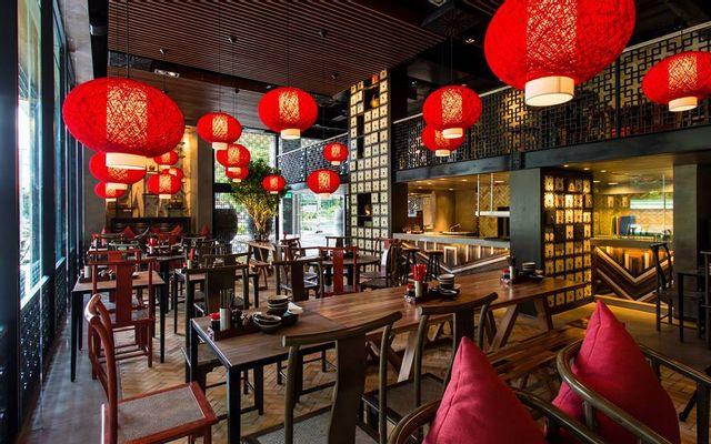 nhà hàng phong cách Trung Hoa