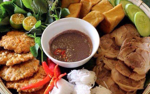 Bún Đậu Cô Oanh ở Lâm Đồng
