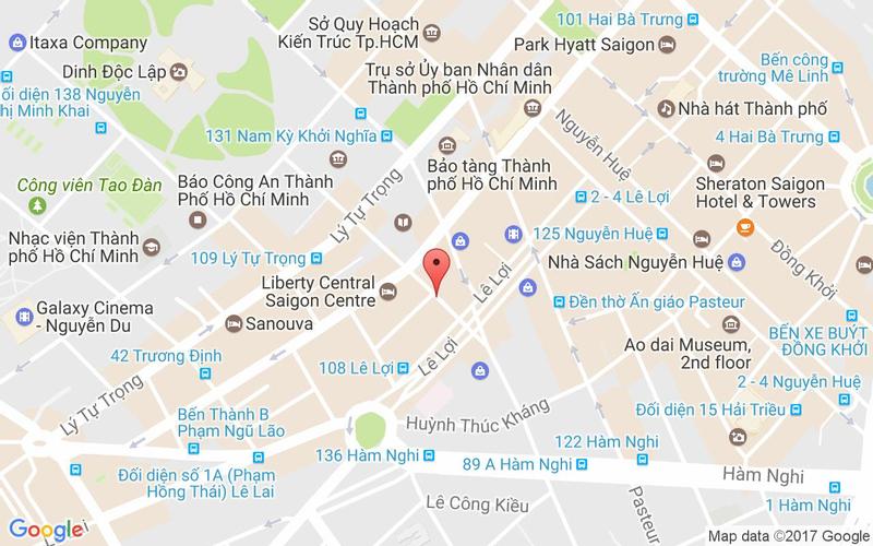 Bản đồ - Buzza Pizza - Nguyễn Trung Trực