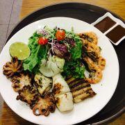 #newmenu #shrimp #squid #fish #salad #healthy #yummy #buzza #buzzapizza #buzzavn #welcome #to #buzza #saigon