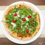 Rucola pizza