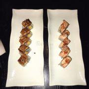 Cơm cuộn lươn nướng & Cơm cuộn cá hồi nướng