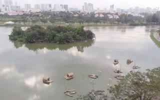 Hồ Bán Nguyệt - Cầu Ánh Sao