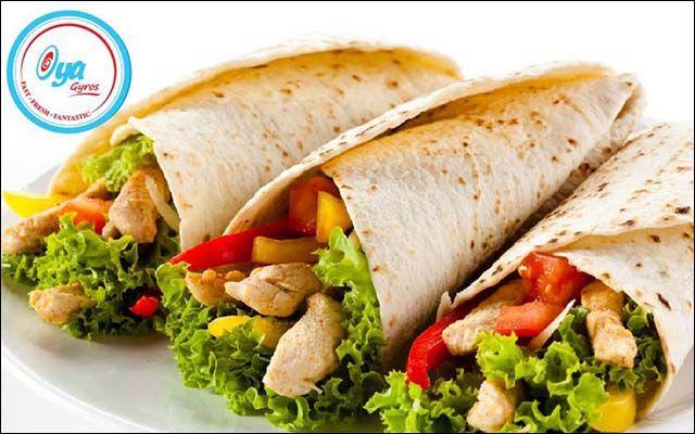 Oya Gyros - Bánh Mì Cuộn