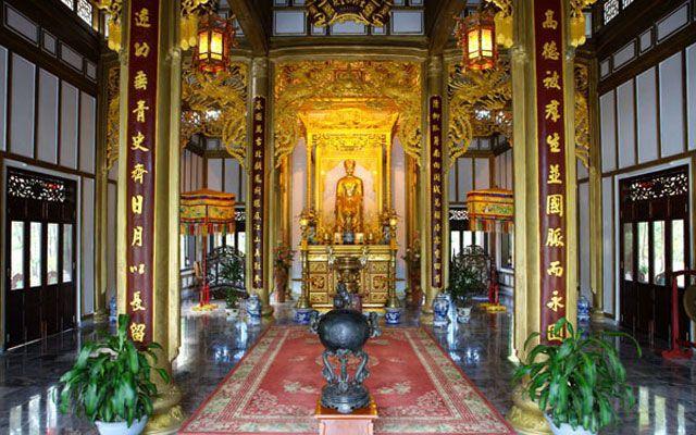 Đền Huyền Trân Công Chúa ở Huế