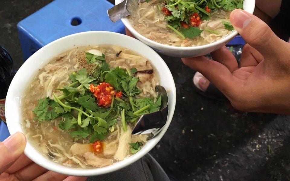 Súp Cua Hạnh Chợ Tân Định