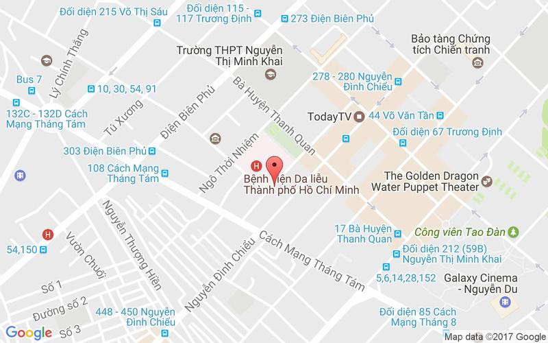 Bản đồ - Nhà Hàng Món Ngon Việt Nam - Hồ Xuân Hương