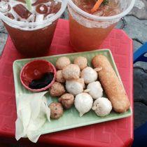 Trà Chanh Hotdog Hàng Xanh