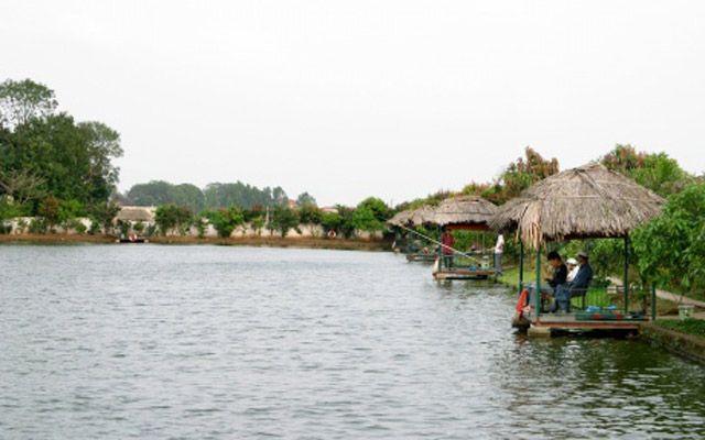 Khu Ẩm Thực Sinh Thái - Câu Cá Giải Trí - Bóng Đá Tân Thắng