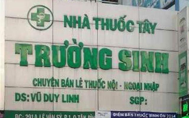 Nhà Thuốc Trường Sinh ở TP. HCM