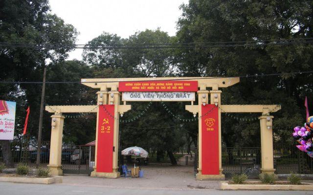 Công Viên Thống Nhất ở Hà Nội