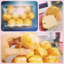 Bubble - Bánh Bông Lan Bơ Nho