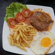 Ham Bơ Gơ Bò Mềm Khoai Tây Chiên Giòn - Hamburger French Fries