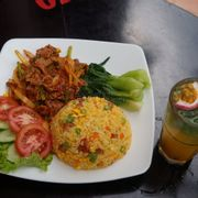 Cơm Bò Hàn Quốc Cay - Korean Hot Beef  Rice