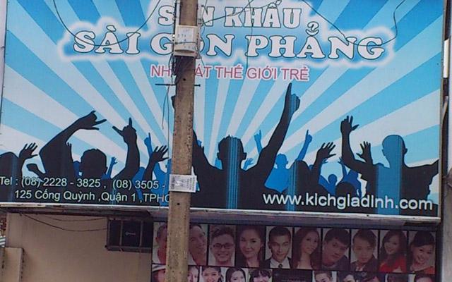 Sân Khấu Sài Gòn Phẳng - Cống Quỳnh ở TP. HCM