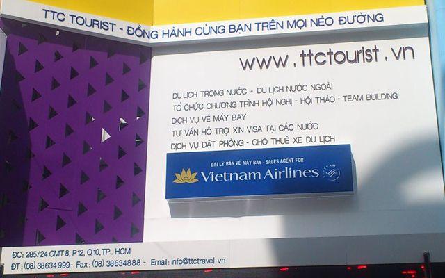 Phòng Vé TTC Tourist - Cách Mạng Tháng 8
