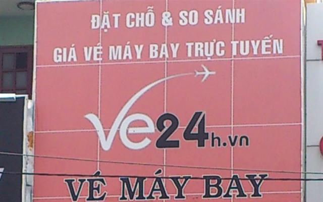 Vé Máy Bay Vé 24h.vn ở TP. HCM