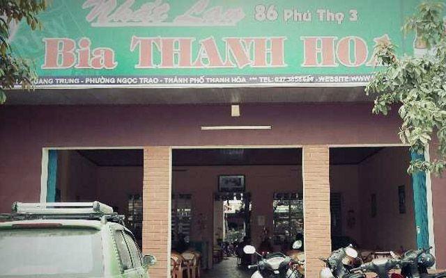 Quán Bia Nhất Lan ở Thanh Hoá