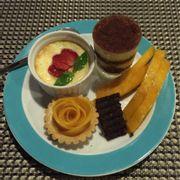 Dĩa dessert của mình