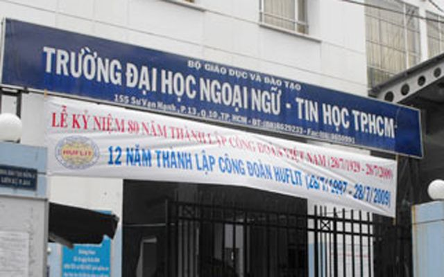Trường Đại Học Ngoại Ngữ Tin Học TP. HCM - Sư Vạn Hạnh ở TP. HCM