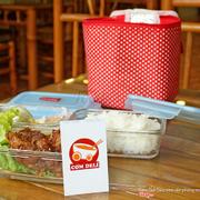 Set ăn tiêu chuẩn: Món mặn, Cơm, Canh - Đồ xào