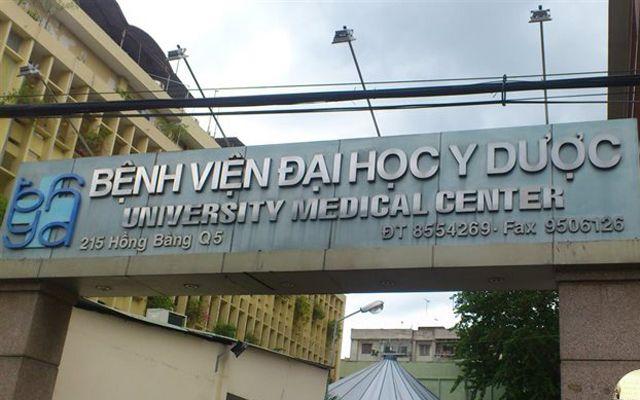 Bệnh Viện Đại học Y Dược  TP. HCM - Cơ Sở 1