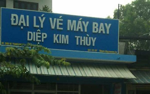 Đại Lý Vé Máy Bay Diệp Kim Thùy - Nơ Trang Long ở TP. HCM