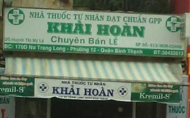 Nhà Thuốc Tây Khải Hoàn - 170D Nơ Trang Long ở TP. HCM