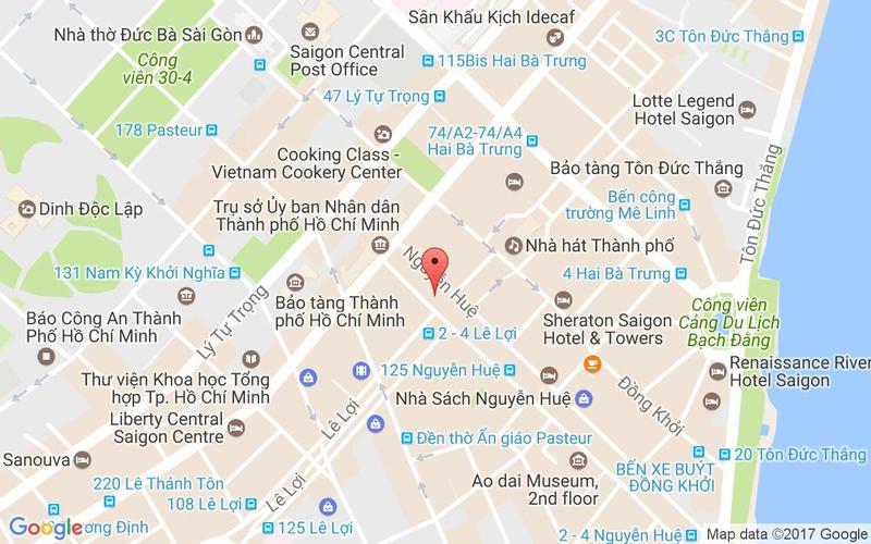 Bản đồ - Coca Suki - Lẩu Và Món Thái - Vincom Center