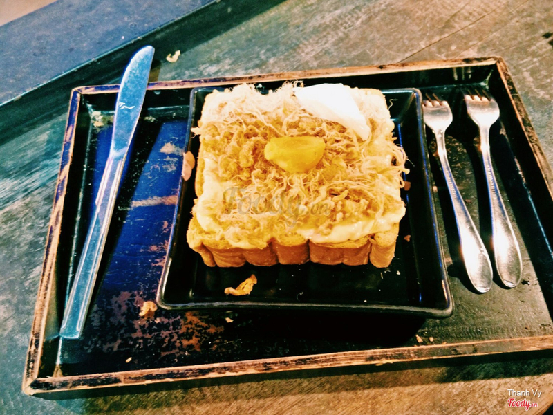 Cheese Salted Egg Toast
