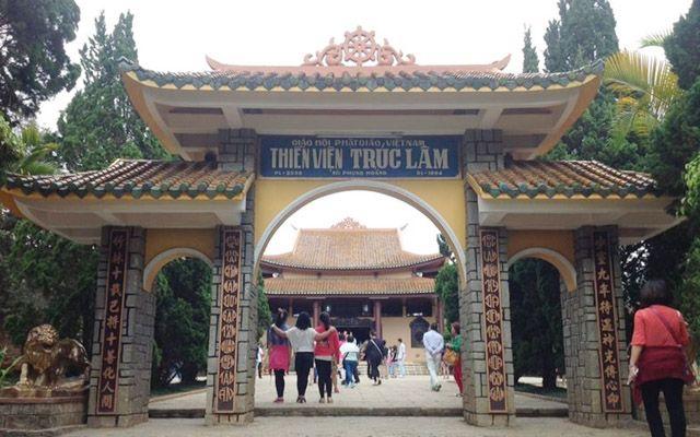Thiền Viện Trúc Lâm ở Lâm Đồng