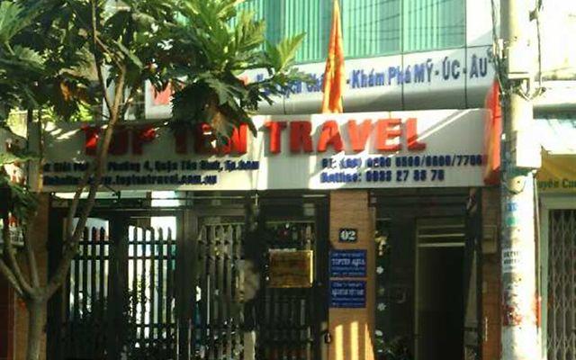 Phòng Vé Top Ten Travel - Giải Phóng