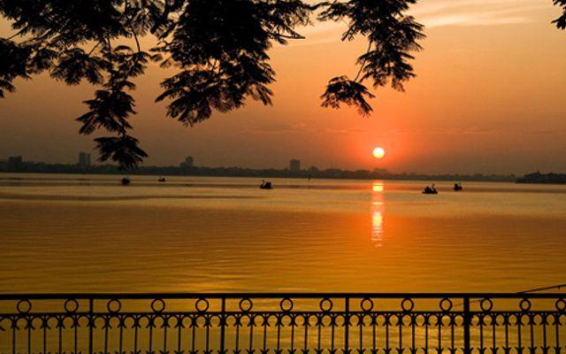 Hồ Tây ở Hà Nội