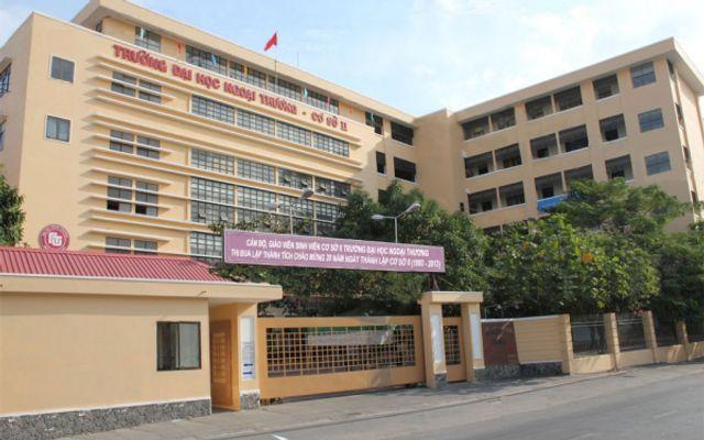 Đại Học Ngoại Thương Cơ Sở 2 Tại TP Hồ Chí Minh ở TP. HCM
