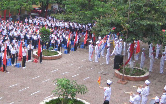 Trường THCS Nguyễn Trãi - Khương Trung ở Hà Nội