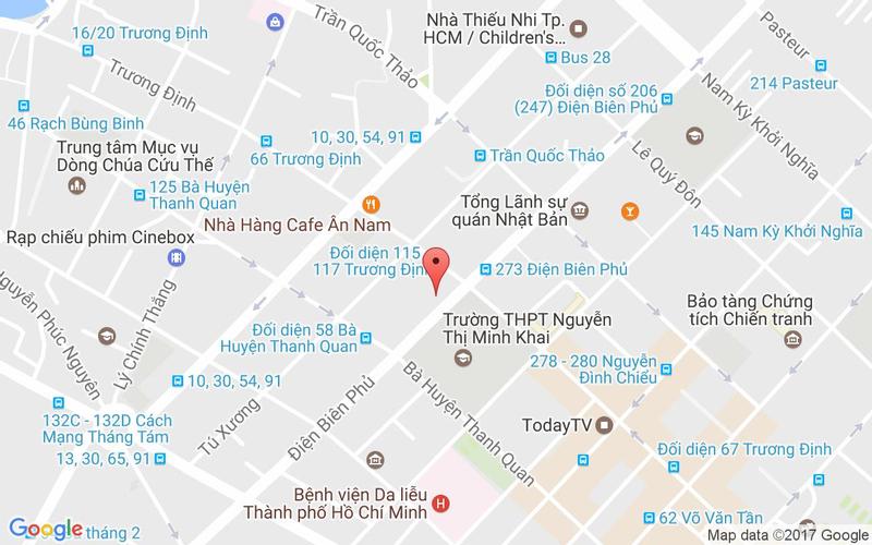 Bản đồ - Gyu-Kaku Japanese BBQ - Điện Biên Phủ