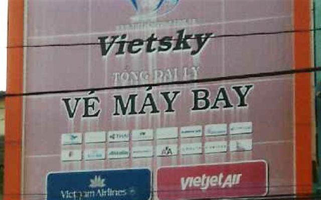 Tổng Đại Lý Vé Máy Bay VietSky - 202 Phạm Ngũ Lão ở TP. HCM