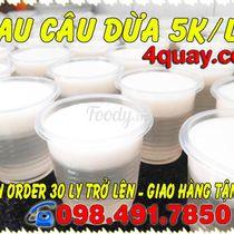 Mứt Dừa - Rau Câu Dừa 4 Quậy - Shop Online